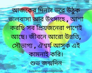 subho jonmodin in bengali font