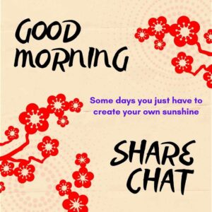 good morning images for sharechat
