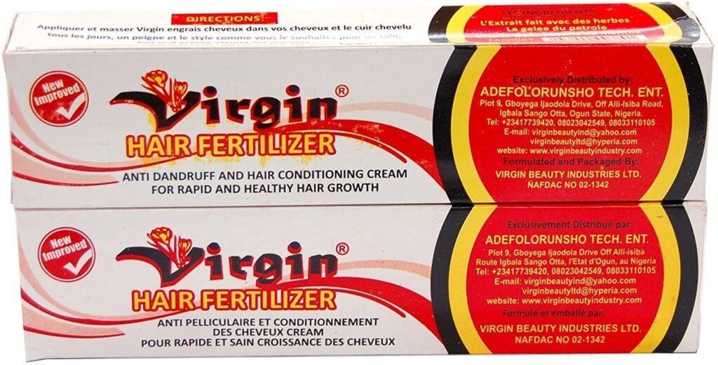 virgin hair fertilizer oil reviews