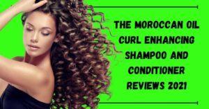 Moroccan oil Curl Enhancing Shampoo and Conditioner