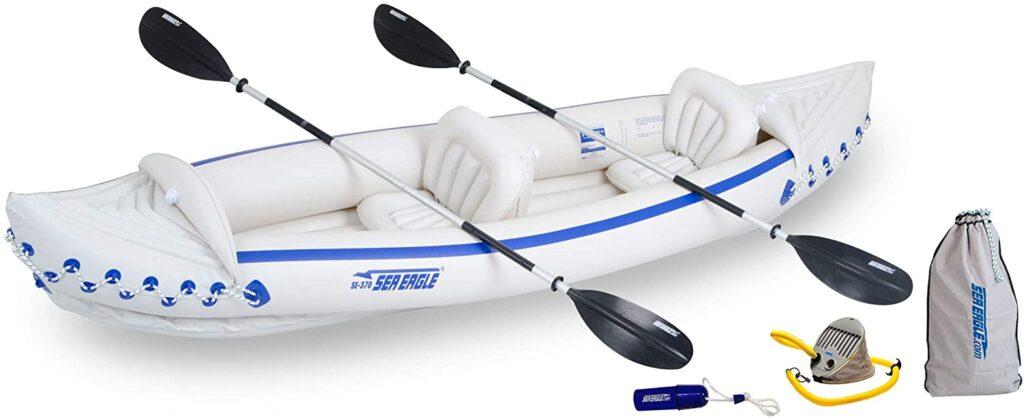 Sea Eagle 370 Kayak Package